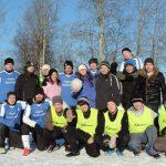 Товарищеский матч по футболу между реабилитантами и персоналом центра